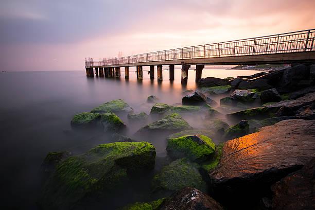 Pier lange exposue – Foto