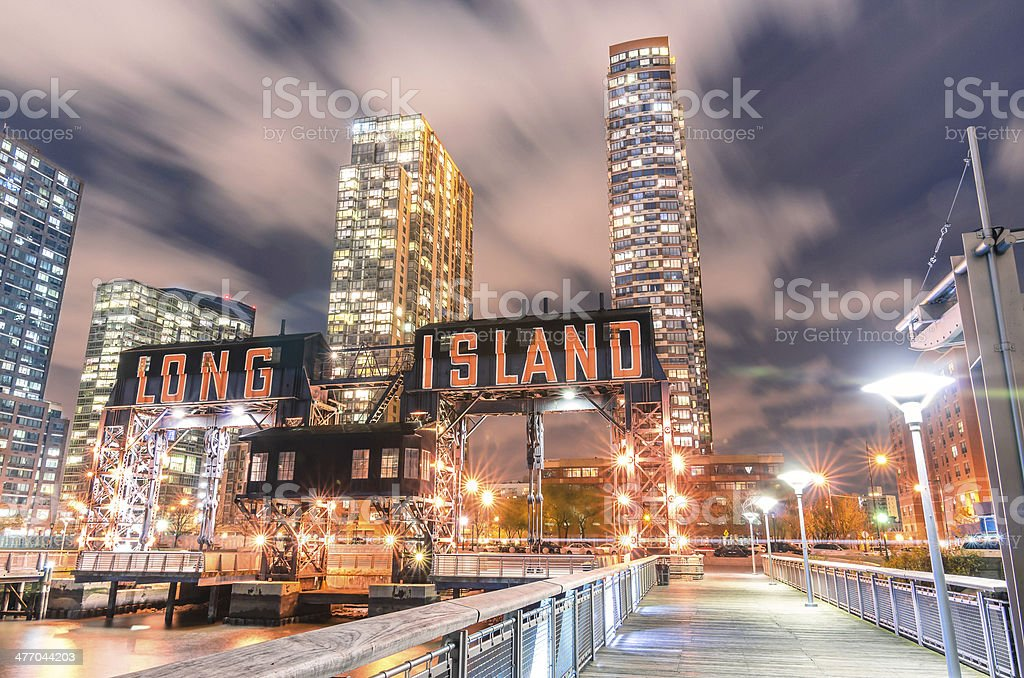 Pier von Long Island in New York City – Foto