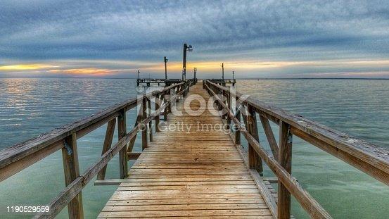 istock Pier on Copano 1190529559