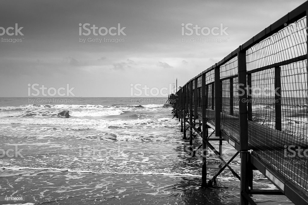 Pier - Royalty-free Beach Stock Photo