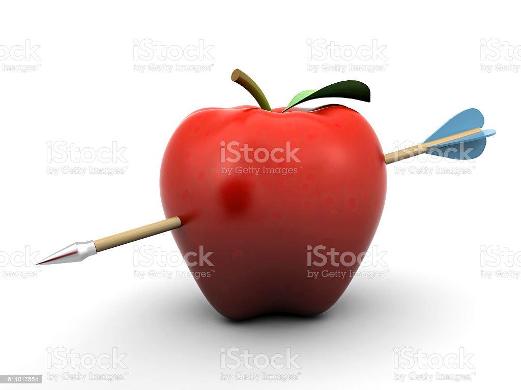 Piercing apple – Foto