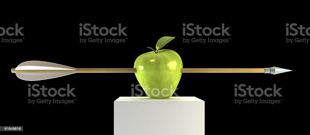Piercing apple – Foto