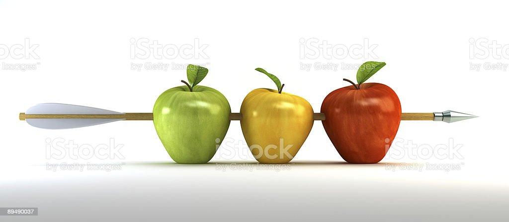 Piercing Äpfel – Foto
