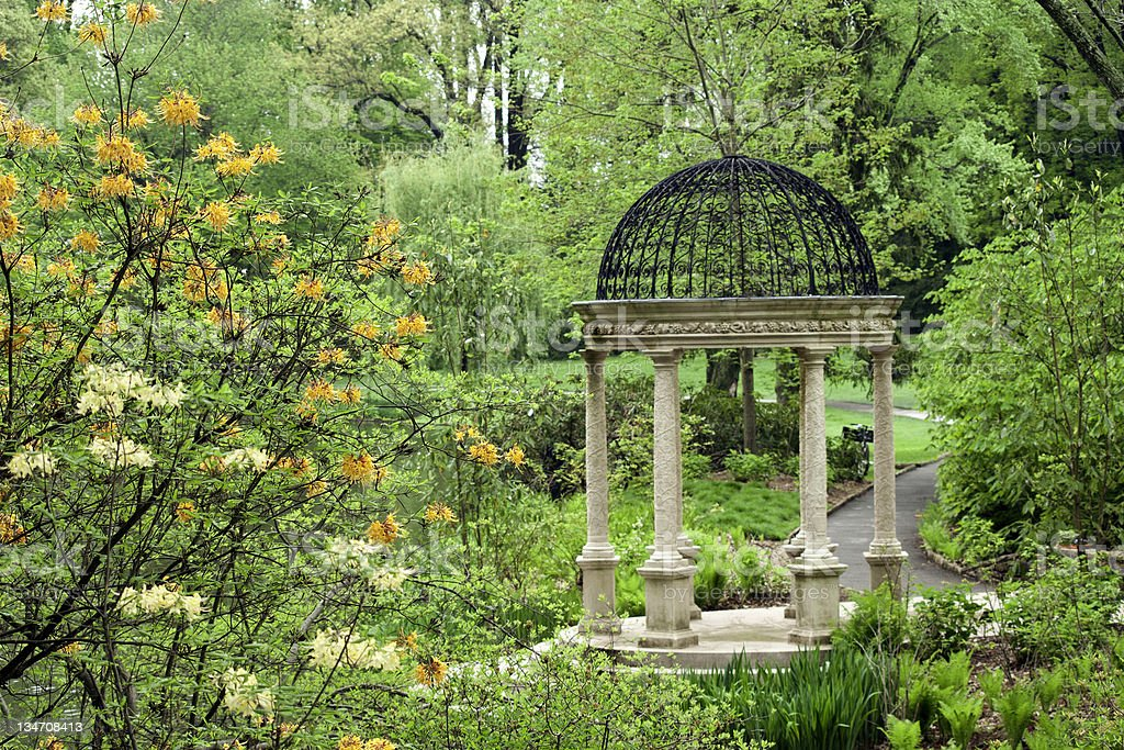 Pierce's Woods Love Temple royalty-free stock photo