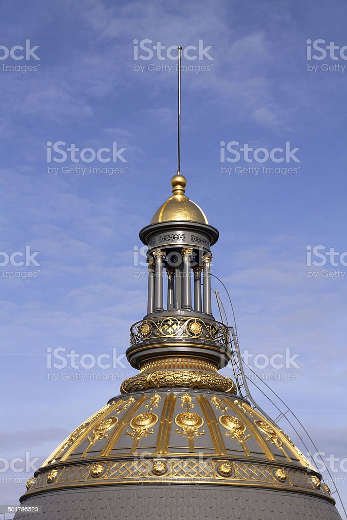 Piercing Gold royalty-free stock photo