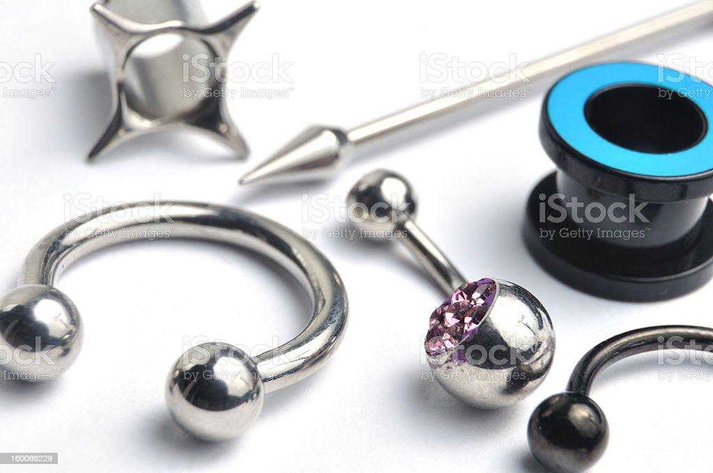 Piercing royalty-free stock photo