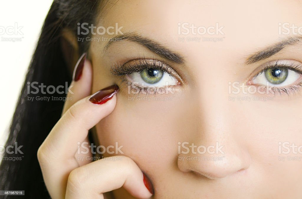 Piercing Stare royalty-free stock photo