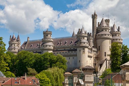 Pierrefonds Castle Stock Photo - Download Image Now