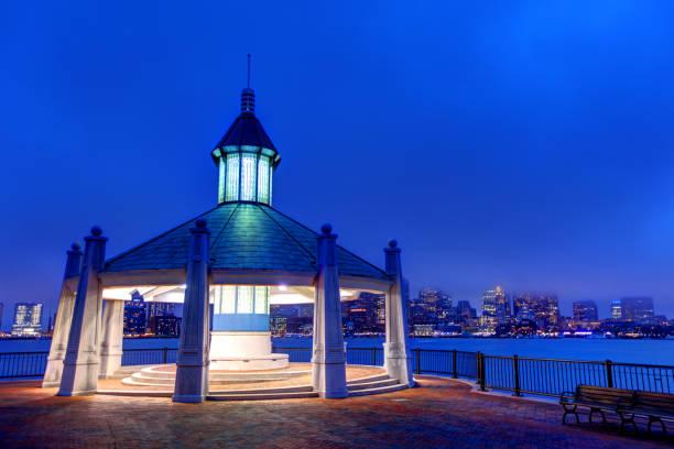 Piers Park East Boston - foto de stock
