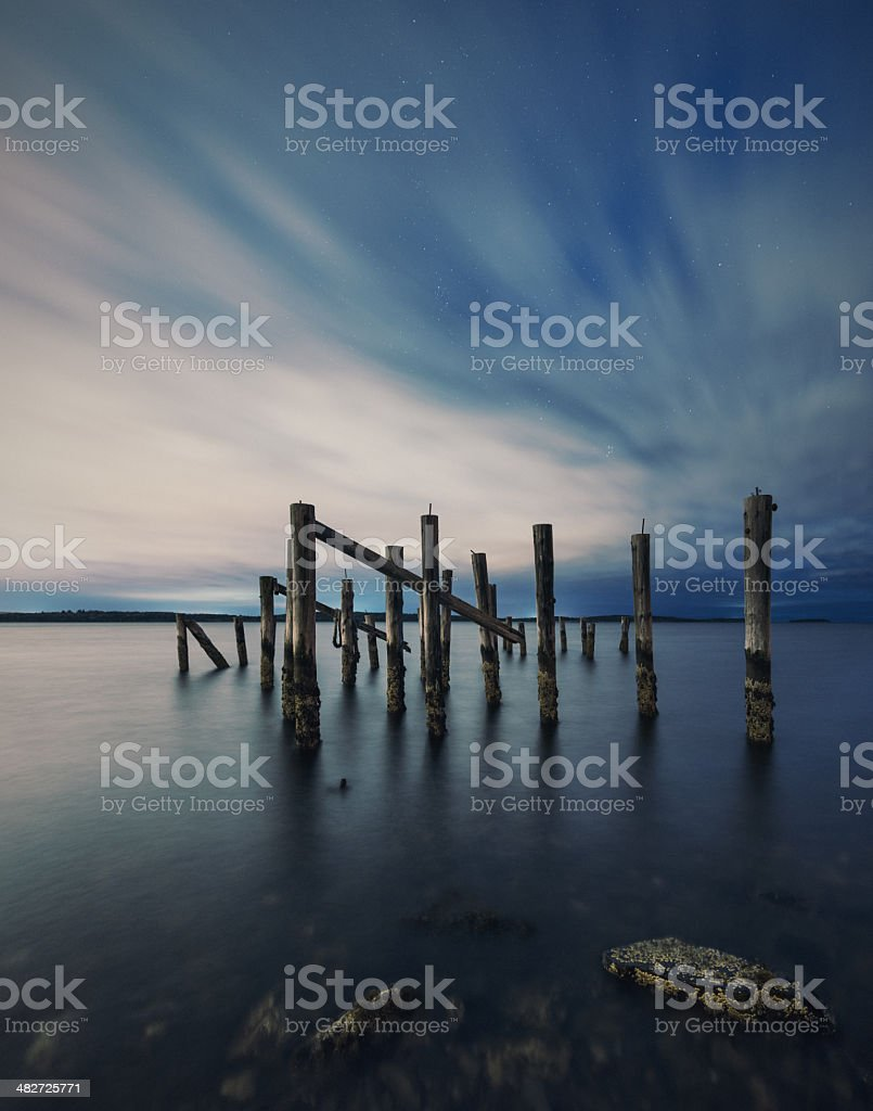 Pierscape royalty-free stock photo