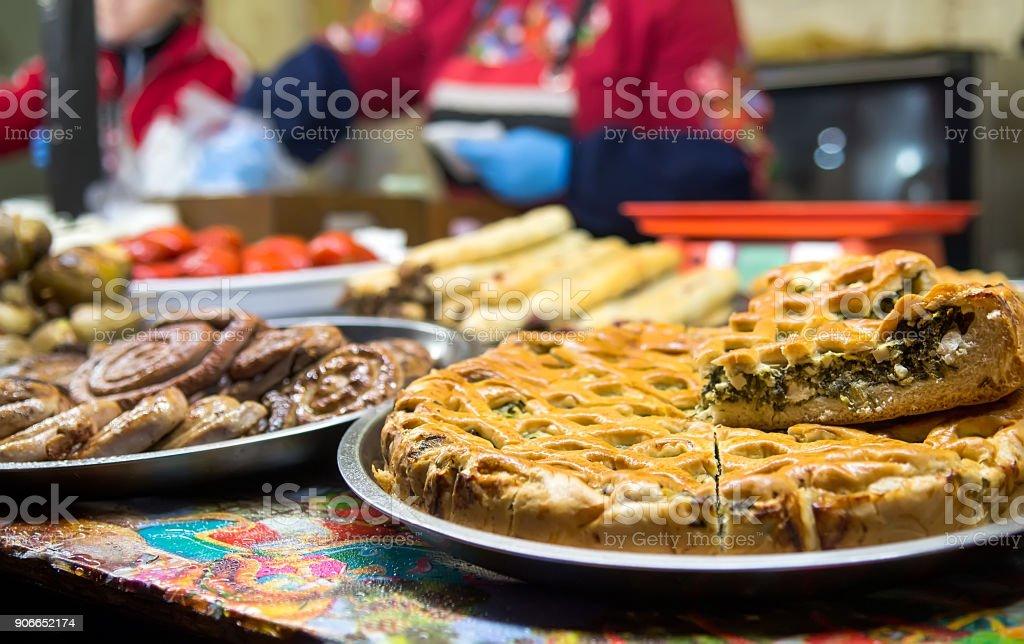 Essen Weihnachtsmarkt.Torten Auf Weihnachtsmarkt Essen Stockfoto Und Mehr Bilder