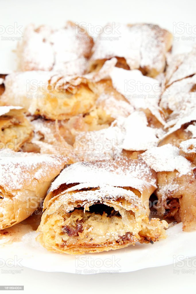 Pie-Strudel royalty-free stock photo