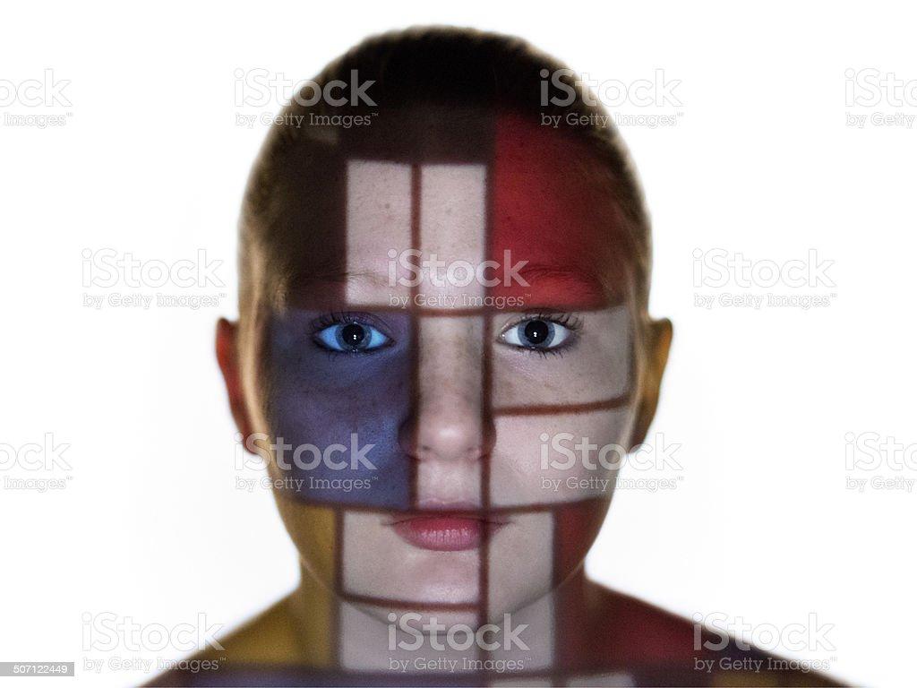 Piet Mondrian stock photo