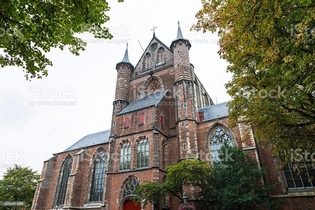 Pieterskerk の教会ライデン、オランダ ロイヤリティフリーストックフォト