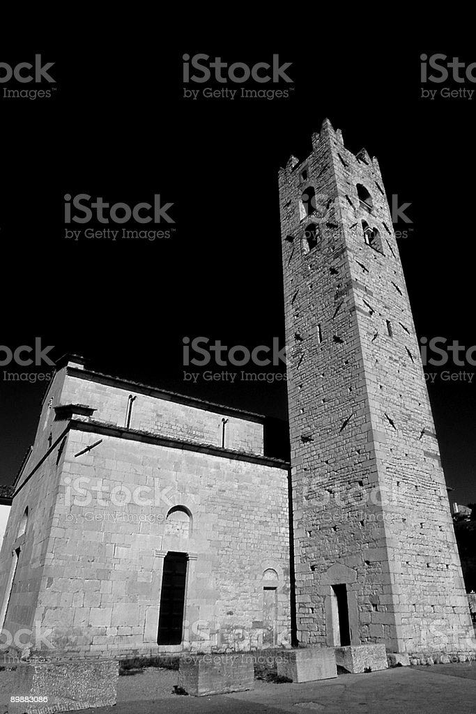 Pieve a Elici royalty-free stock photo