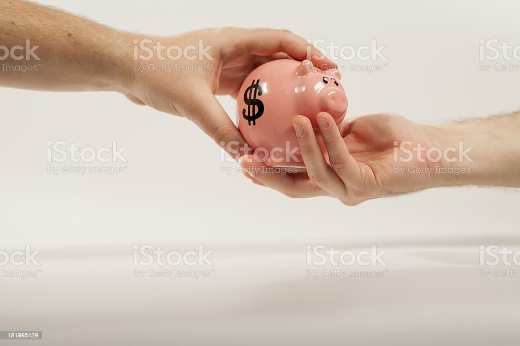 Pig Safe royalty-free stock photo