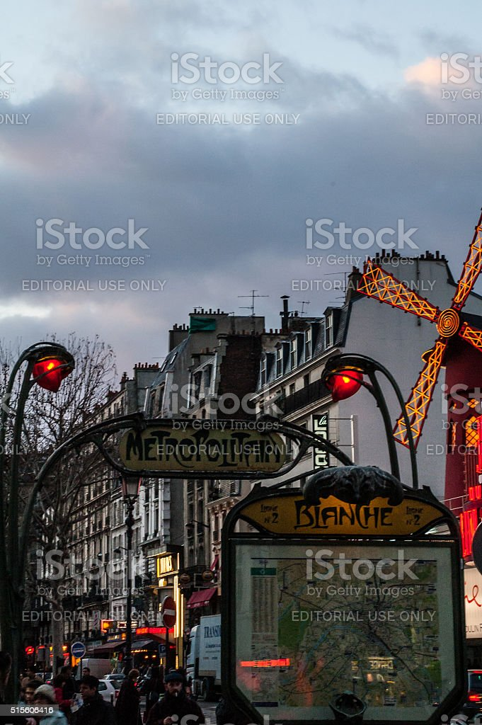 Pigalle stock photo