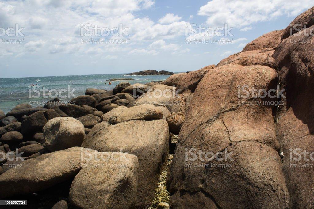 Pigeon Island National Park Korallenstrand Trincomalee Sri