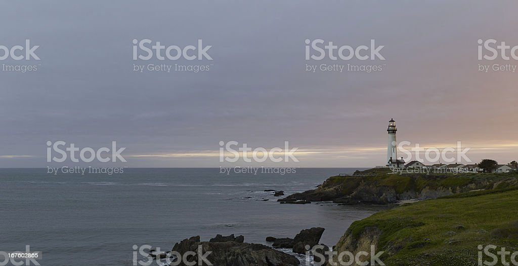 Pigeon Point Lighthouse stock photo