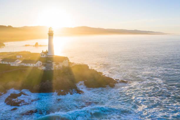 Pigeon Point Lighthouse, Pescadero, CA – Foto