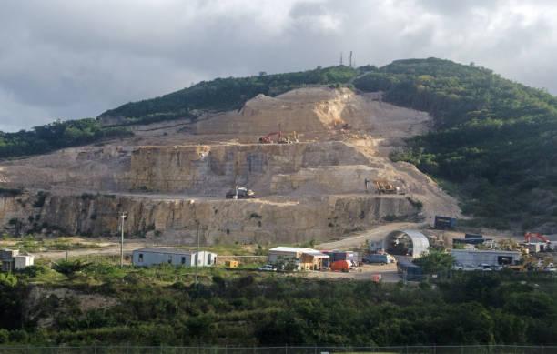 皮戈特山採石場, 聖約翰, 安提瓜 - john lewis 個照片及圖片檔