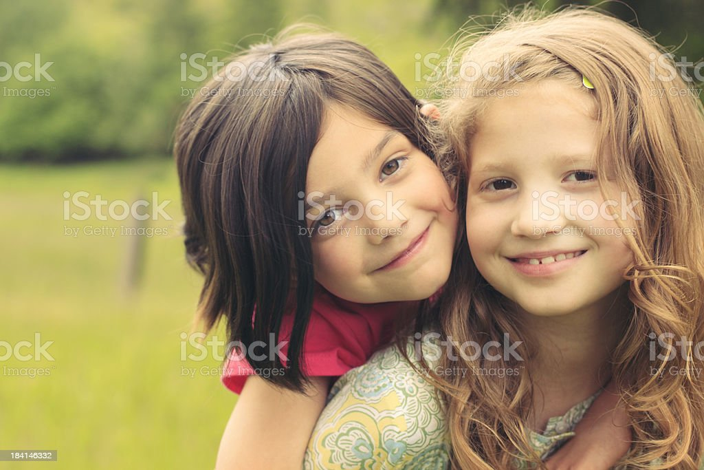 Piggy Back Ride royalty-free stock photo
