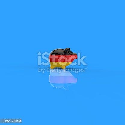 istock Piggy bank - 3D Illustration 1162175108