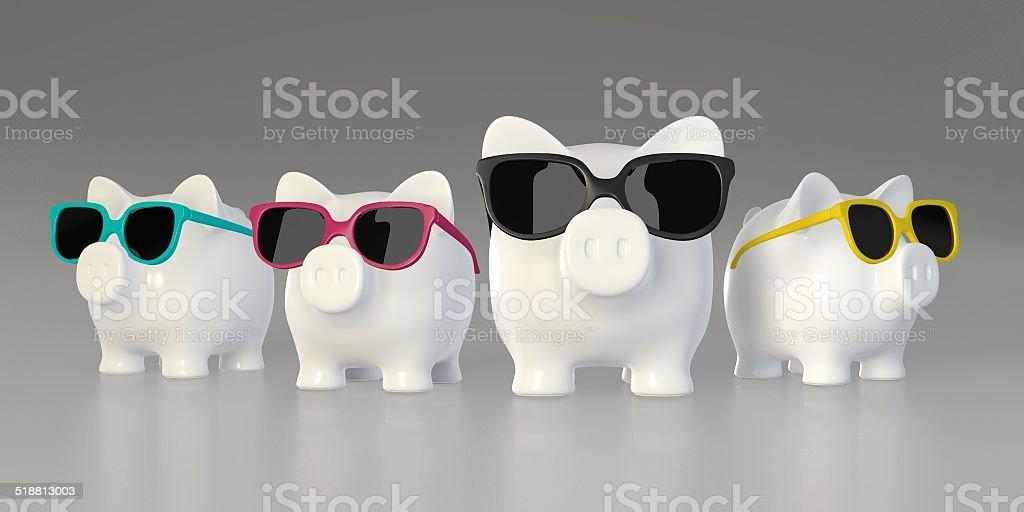 Tirelire-gros Cochon et le gang de bonbons - Photo