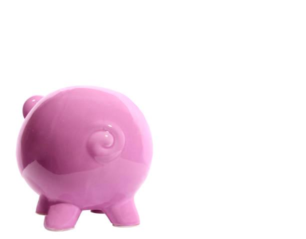 Piggy Bank geschlossen isoliert – Foto