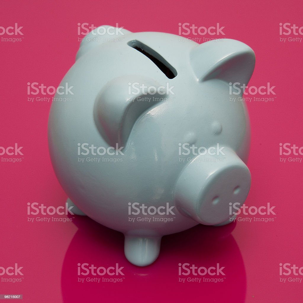 Piggy bank money box royalty-free stock photo