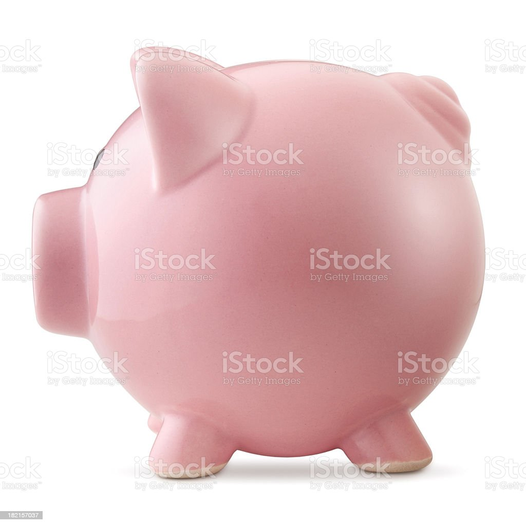 Piggy bank. royalty-free stock photo