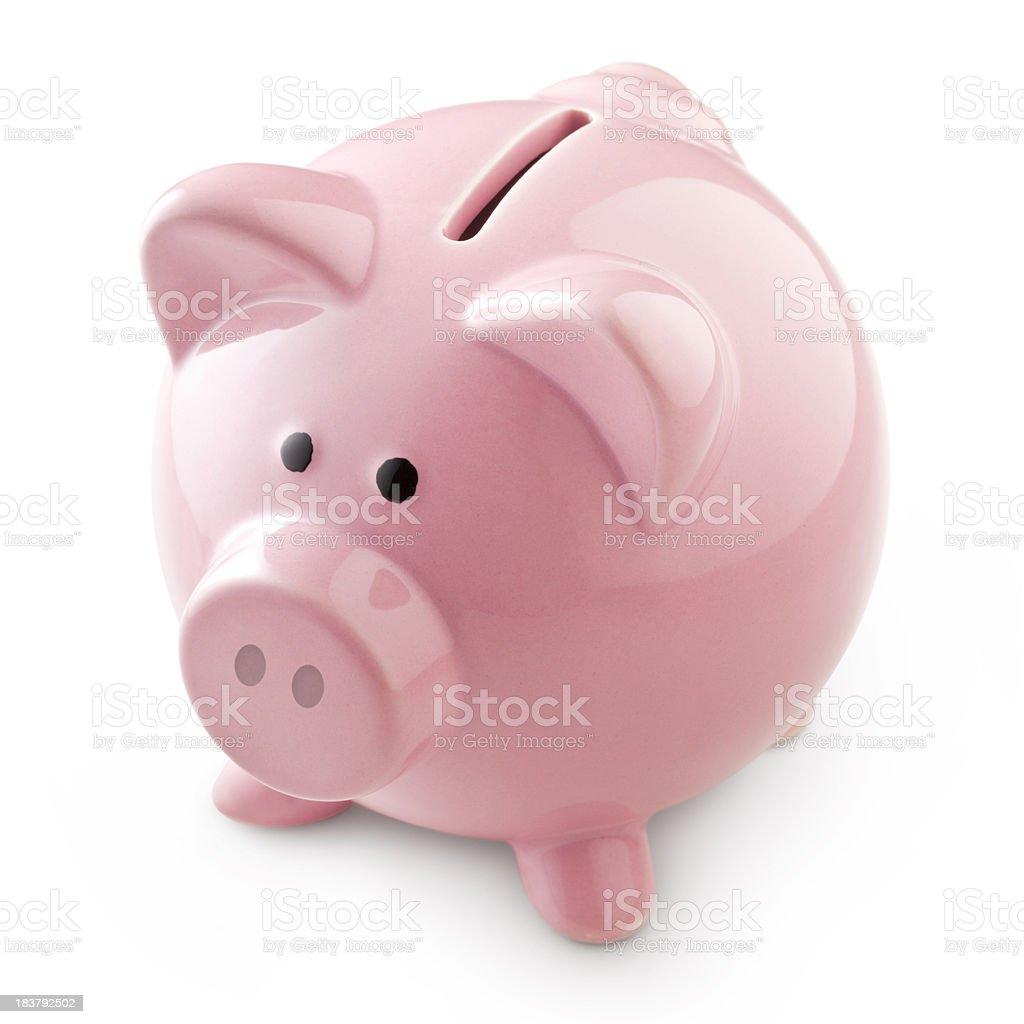 Piggy bank. royalty-free stock photo
