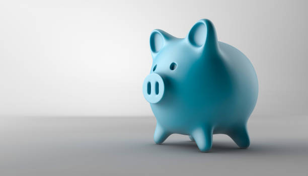 piggy bank - piggy bank stock photos and pictures