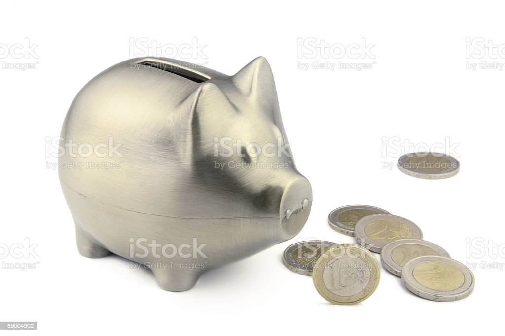 Salvadanaio a porcellino foto stock royalty-free