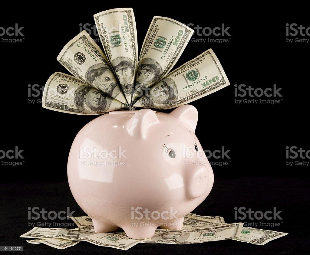 Piggy Bank Saving royalty-free stock photo