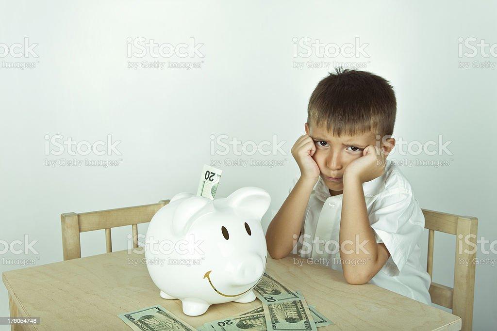Piggy Bank Series royalty-free stock photo