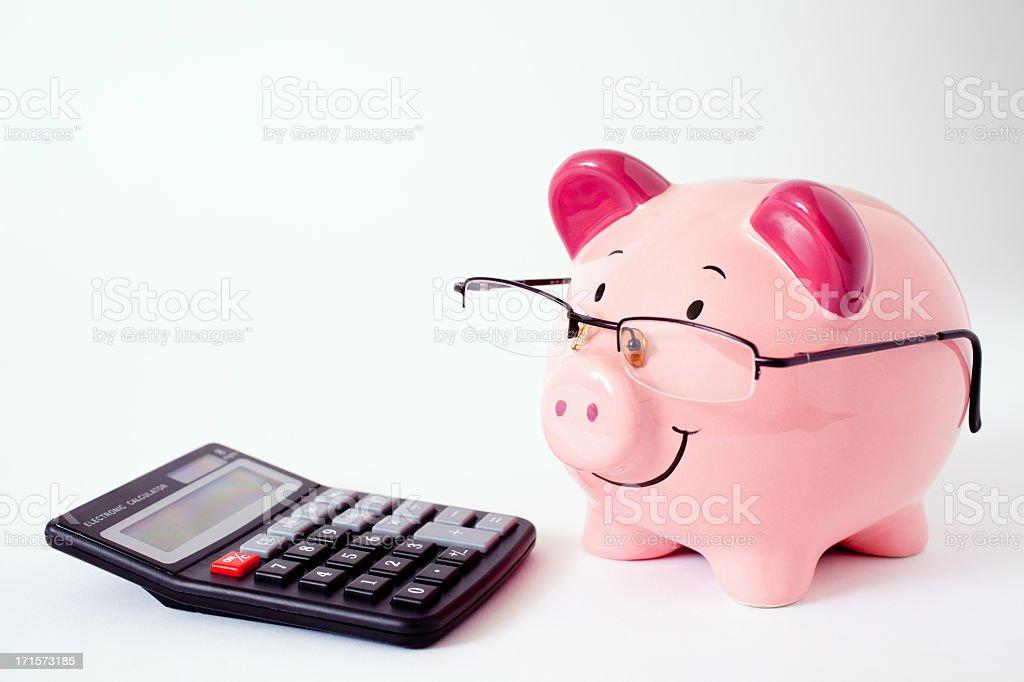 Risultati immagini per piggy bank calculator