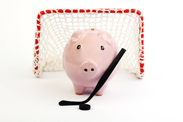 Piggy bank with hockey stick and puck before hockey gate picture id477210294?b=1&k=6&m=477210294&s=612x612&w=0&h= simmg5nkyl qcrssifzh8cdsjwxivp5vib 8epl9qc=
