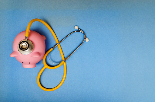 Currency, Piggy Bank, Stethoscope, Coin Bank, Financial Item