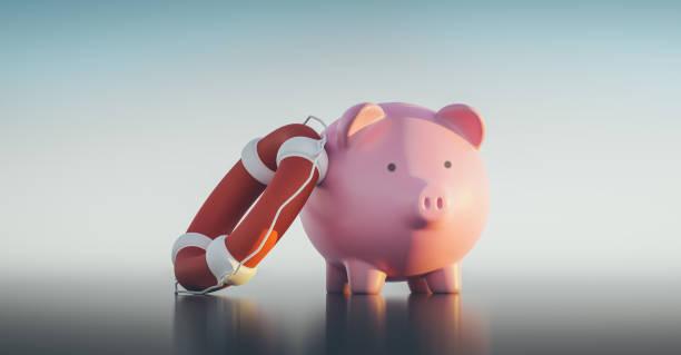 Piggy Bank,3d Render – Foto