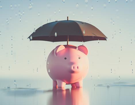 Piggy Bank,3d Render
