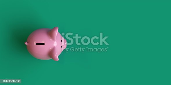 istock Piggy Bank,investment concept 1069880738