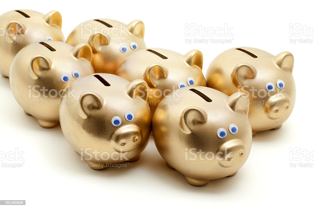 piggy bancos foto royalty-free