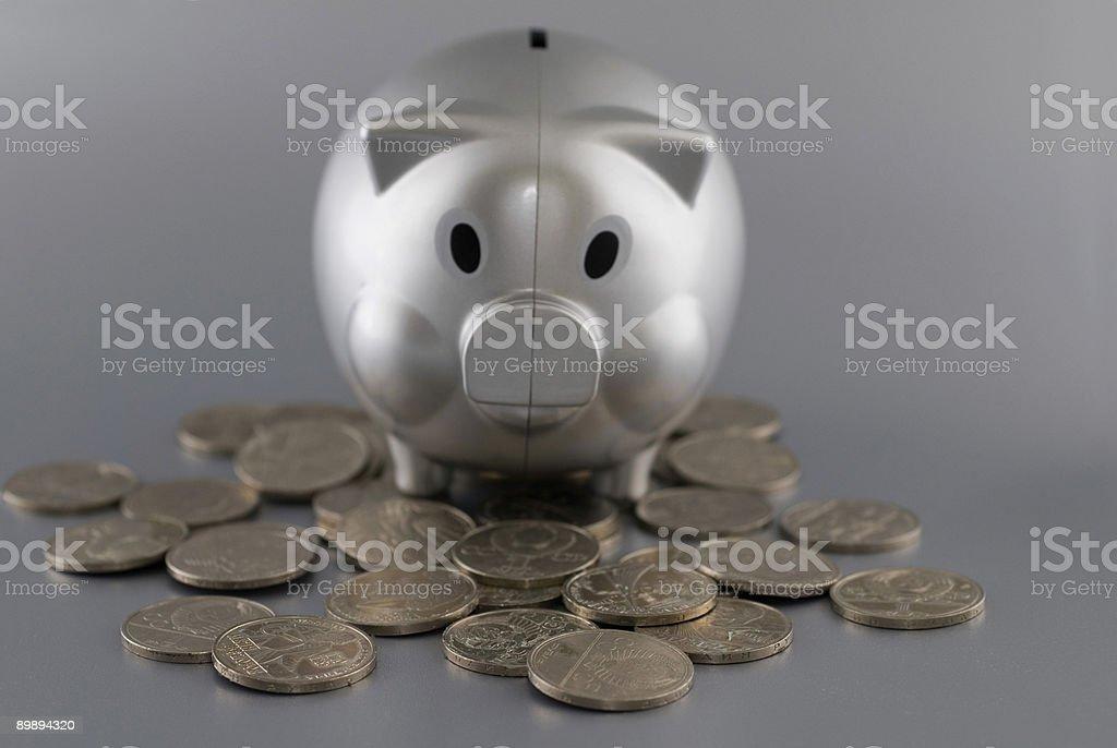 piggy money royalty-free stock photo