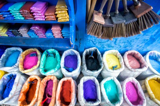 Pigments, Morocco
