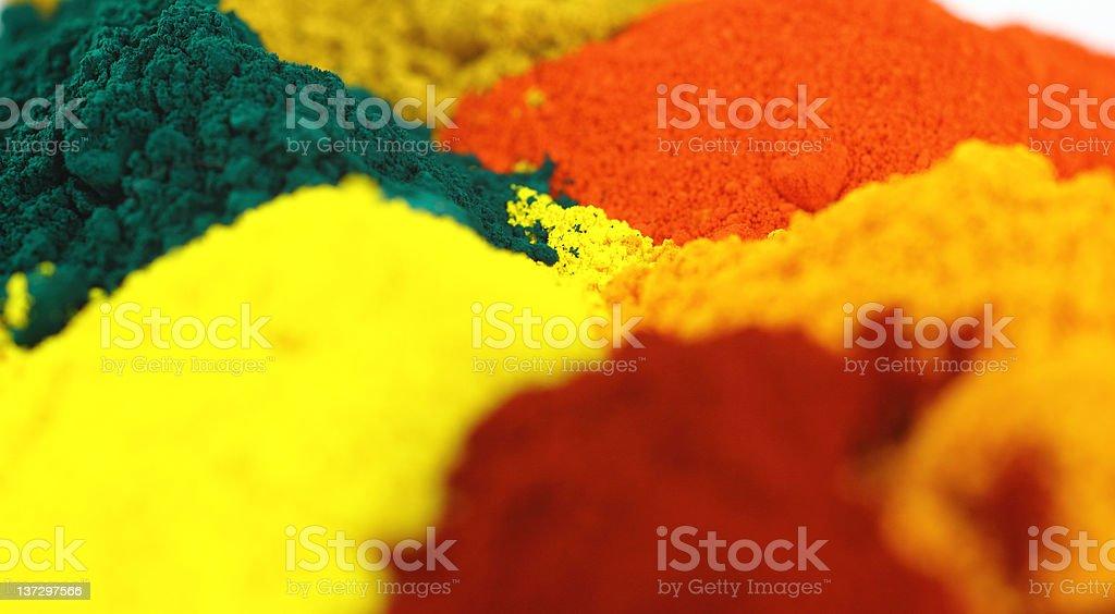 Pigments royalty-free stock photo