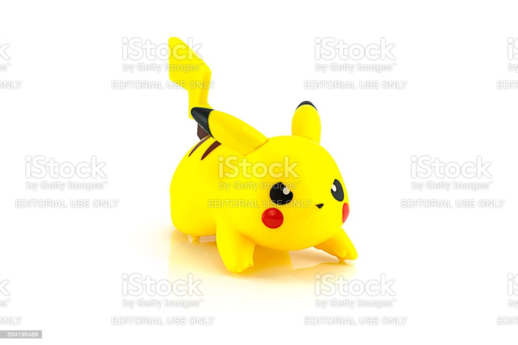 Pikachu Figure Character From The Pokemon Stock Photo More