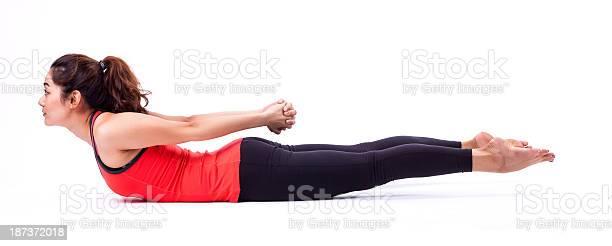 Acción De Pilates Foto de stock y más banco de imágenes de Actividad
