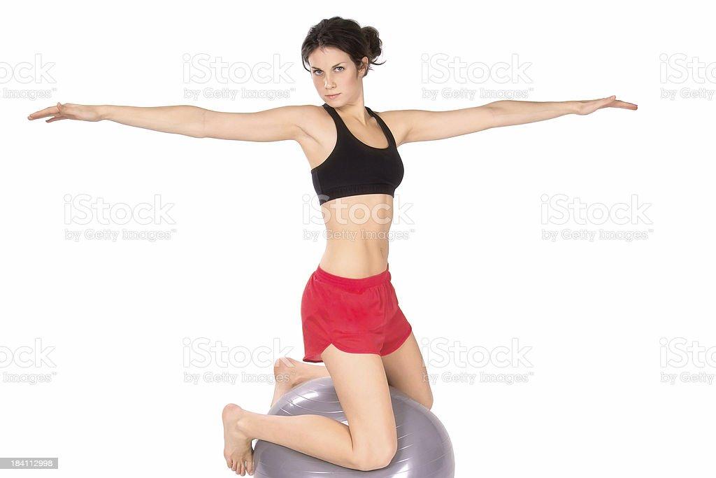 Pilates Balance II stock photo