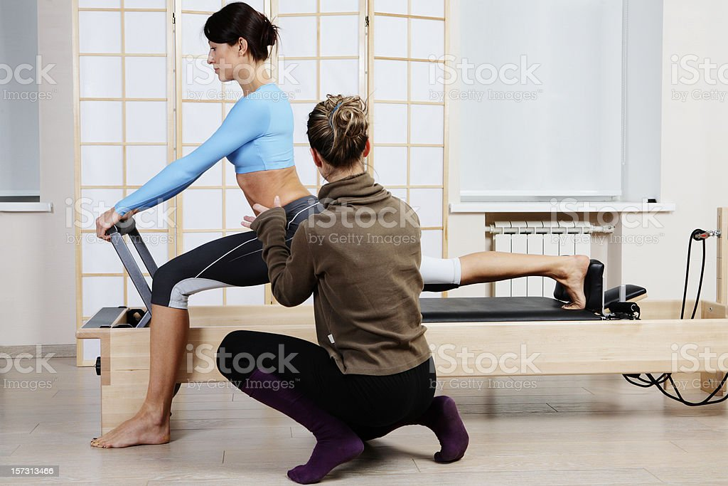 Pilates-Übung – Foto